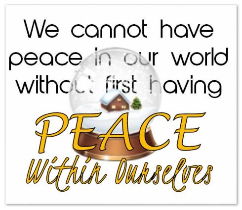 peace in self