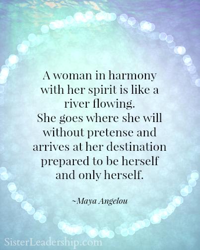 Inspired By Maya Angelou Virtuosity Sister Leadership
